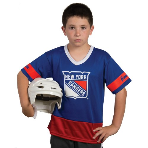 Franklin Sports NHL New York Rangers Youth Team Uniform Set (New York Ranger Youth Jersey compare prices)