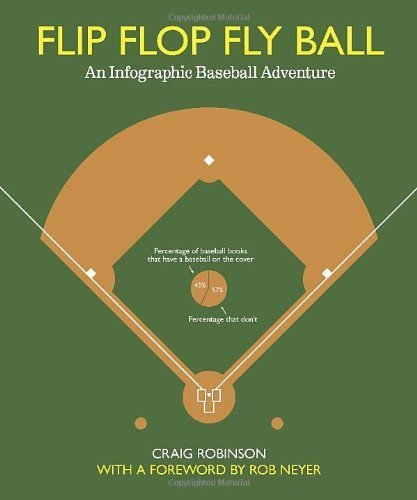 Flip Flop Fly Ball: An Infographic Baseball Adventure by Robinson, Craig published by Bloomsbury USA (2011) [Hardcover]