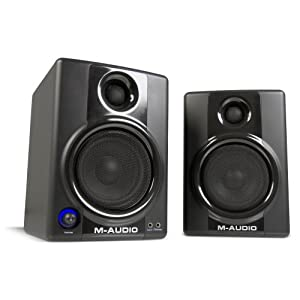 M-Audio Studiophile AV40 Powered Loa Monitor (Phiên bản mới nhất) mua hàng mỹ tạ