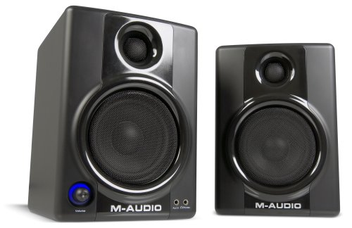M-Audio Studiophile AV40 Powered Monitor Speakers (Latest Version)