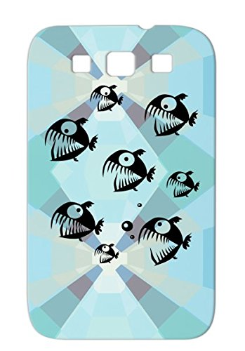 Dirtproof Perry Max Black Cover Case For Sumsang Galaxy S3 Piranha Aquatic Stik Animals Nature Scarey Marine Life Carnivore Predator Perry Anna Hunter River Amazon Fish Underwater Water