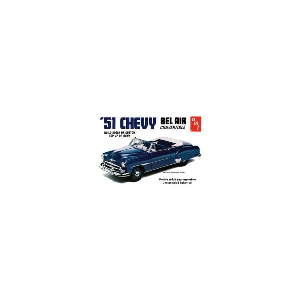 AMT 1/25 1951 Chevy Bel Air Convertible (Ltd Production) Kit