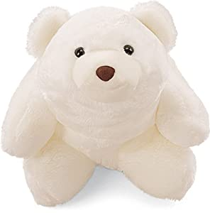 "Gund 10"" White Snuffles Bear by Gund"