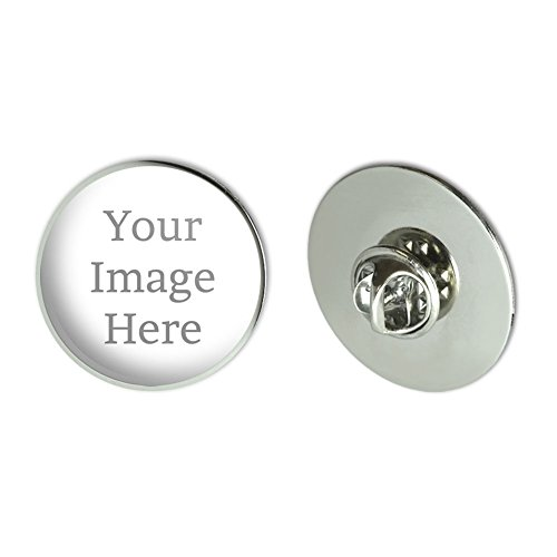 Graphics and More Self-eez(TM) Custom Personalized Large Round Lapel Hat Pin Tie Tack (Custom Pin Buttons compare prices)