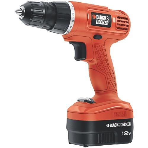Black-Decker-GCO1200C-12-Volt-Cordless-Drill-with-Over-Molds-Orange-and-Black