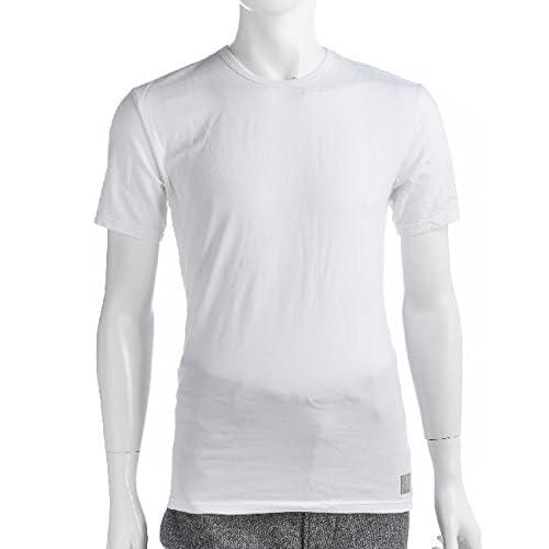 CALVIN KLEIN メンズ アンダーウェア Tシャツ 半袖 (U8509A)【L-ホワイト】 並行輸入品
