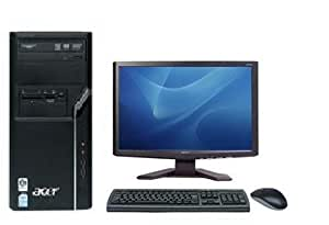 Acer Aspire m1640 PC With Acer X163W LCD TFT, Keyboard And Mouse. Cheapest PC Bundle Ever!