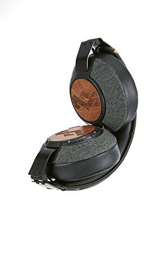House of Marley EM-FH041-MI Liberate Midnight XLBT Bluetooth Wireless Headphones