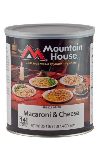 Mountain House #10 Can Macaroni & Cheese (9- 1 cup servings) photo