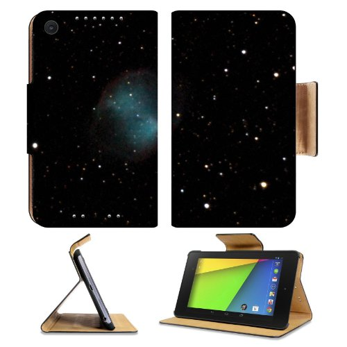 Galaxy Stars Universe Black Space Asus Google Nexus 7 Fhd Ii 2Nd Generation Flip Case Stand Magnetic Cover Open Ports Customized Made To Order Support Ready Premium Deluxe Pu Leather 8 1/4 Inch (210Mm) X 5 1/2 Inch (120Mm) X 11/16 Inch (17Mm) Msd Nexus 7