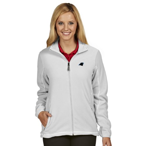 NFL Carolina Panthers Women's Ice Jacket, White, Medium
