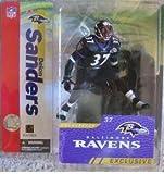 "Deion Sanders Baltimore Ravens ""Alternate Black Jersey"" McFarlane NFL Collector's Club Exclusive Action Figure"