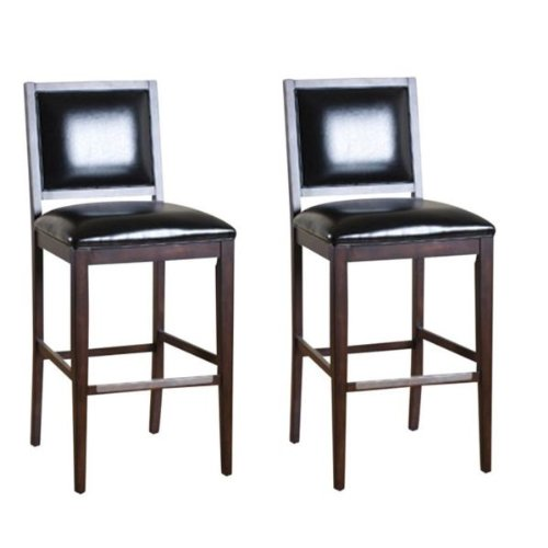 Set of 2 Bryant Tall Bar Stools