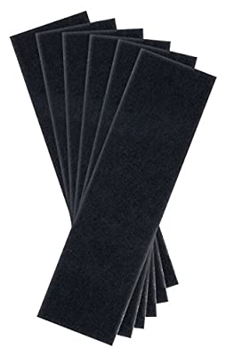 PRE-FILTER 6-Pack for Germ Guardian AC4800 Series(AC4825, AC4825e) Filter B FLT4825 True HEPA Replacement to IMPROVE Indoor Air Quality & Helps REMOVE Odor by Complete Filtration (CFS)