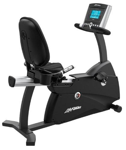 Life Fitness R3 Advanced Recumbent Lifecycle Exercise Bike