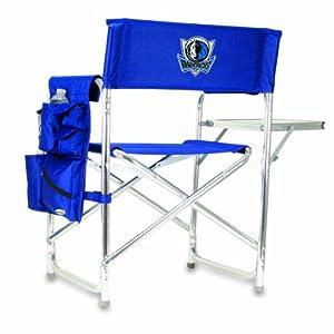 NBA Dallas Mavericks Portable Folding Sports Chair by Picnic Time
