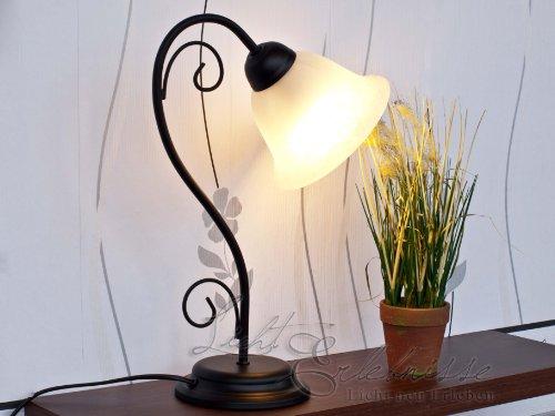 nachttischleuchten landhausstil gem tliche lampen f r das schlafzimmer. Black Bedroom Furniture Sets. Home Design Ideas