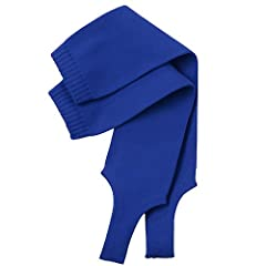 Buy Twin City Solid Stirrup Socks 4 Inch Large Royal by Twin City