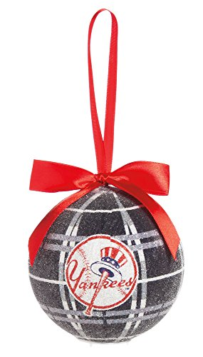 100Mm Led Ball Ornament, New York Yankees