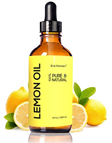 LEMON ESSENTIAL OIL ★ BIG 4 Oz ★ 100% Pure Cold Pressed from Real Lemons ★ Extremely Strong ★ SEE RESULTS OR MONEY-BACK ★ Premium Quality Essential Oil ★ Safe For Ingestion ★ With High Quality Dropper ★ Detox Your Body and Boost Fat Burning Naturally ★ Make Your Home Naturally Clean and Kitchen Smell Wonderful ★ BUY NOW WITH CONFIDENCE! image