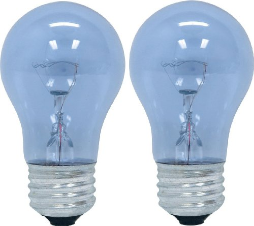 GE Lighting 48706 40-Watt Reveal A15 Appliance Bulb, 2-Card (Kenmore Oven Filament compare prices)