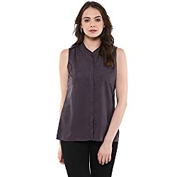 Raindrops Women's Top(1192A005G-Grey-XL)