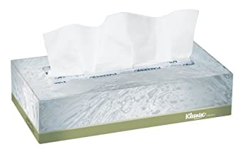 """Kleenex Naturals 21.601 tejido facial, 2 """"Altura x 4,75"""" Ancho x 8.875"""
