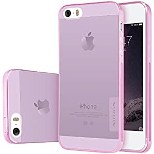 Nillkin Case for Apple iPhone SE / 5S Nature Series Back Soft Flexible TPU PINK COLOR