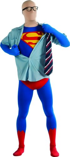Superhero 2nd Skin Full Body Suit Costume - Large - Chest Size 42-44