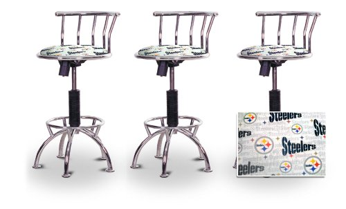 Astounding Where Can You Buy 3 24 29 Pittsburgh Steelers Seat Chrome Uwap Interior Chair Design Uwaporg