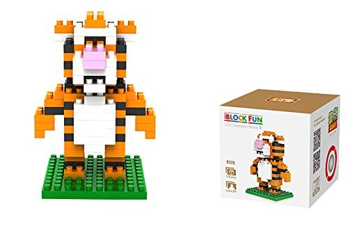 LOZ Diamond Blocks Nanoblock Tigger Educational Toy 100PCS