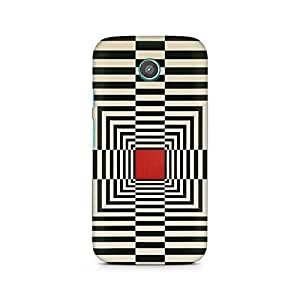 Mobicture Box Illusion Printed Phone Case for Motorola Moto G2 (2nd gen)