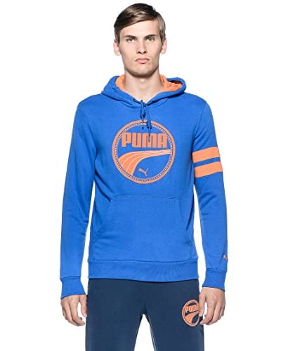 Puma Felpa Athl.Hooded Terry [Ombre Blue]
