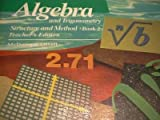 Algebra and Trigonometry Structure and Method, Book 2, Teachers Edition