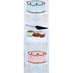 Martha Stewart Crafts Baking Wedding Cake Dimensional Stickers