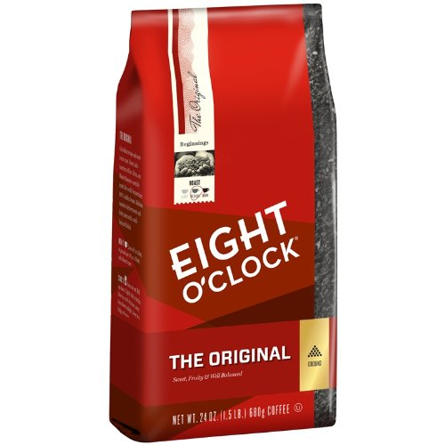 Eight O'Clock The Original Ground Coffee, 24 Ounce