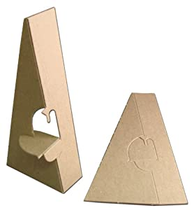 Inovart Picture-It Single Wing Chipboard Easels 4