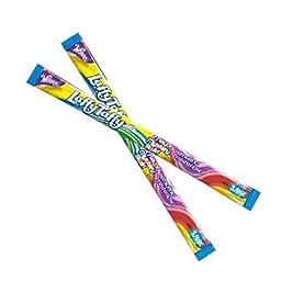 Wonka Rainbow Mystery Swirl Laffy Taffy Ropes 24 Count
