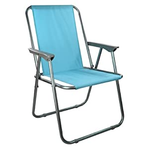 New Folding Spring Garden Deck Chair Beach Party Camping Picnic BBQ Seat Shop