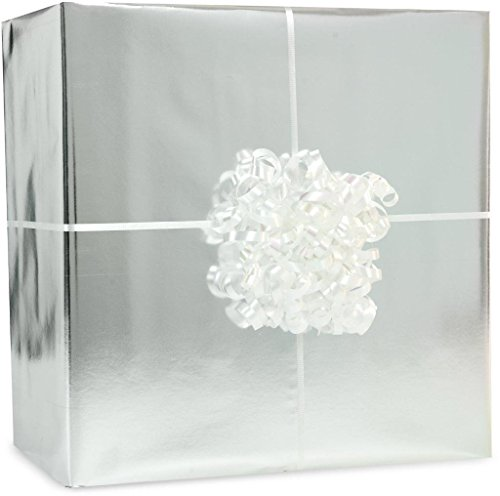 Amscan - Metallic Silver Gift Wrap Kit