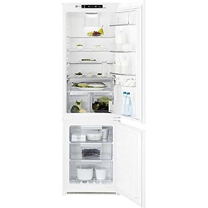 Electrolux ENN2854COW Intégré 200L 63L A++ Blanc - réfrigérateurs-congélateurs (Intégré, Bas-placé, A++, Blanc, SN, ST, T, Non, LED)