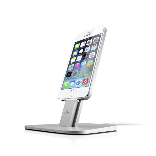 Twelve South Hirise For Iphone/Ipad Mini-Brushed Metal Stand Designed To Work With Your Apple Lightning Cable (Silver)