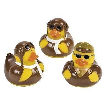12-count-fun-express-pilot-aviator-rubber-ducks