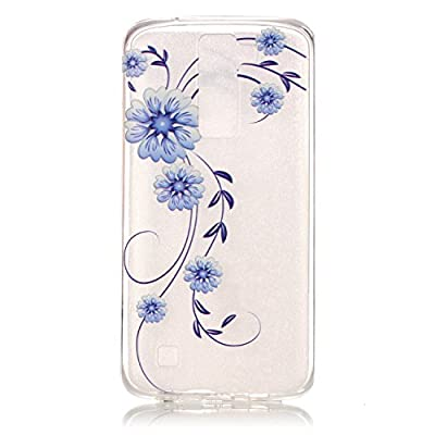 BLT® LG K8 Case, Orchid Patttern Case for LG K8 / LG Escape 3/ LG Phoenix 2 with a Phone Bracket