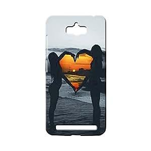 BLUEDIO Designer 3D Printed Back case cover for Asus Zenfone Max - G4915