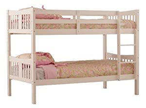Stunning Stork Craft Caribou Bunk Bed White