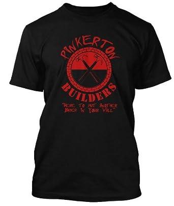 Pink Floyd Pinkerton Builders T-shirt - Wall inspired T-shirt, Mens, Small, Black