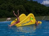Inflatable drinking water Slides:Slider Island