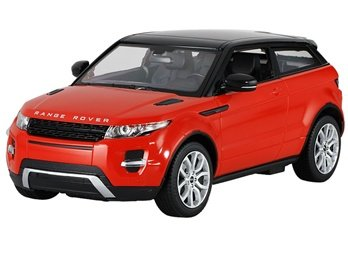 LED lights with LED lights RASTAR car toy 1:14 RC toy Land Rover Range Rover Evoque car qualified (red)
