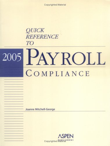 Quick Reference To Payroll Compliance